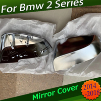 For BMW 2 Series 1 Pair Rearview Mirror Cover Cap ABS F22 F23 For BMW Mirror Cover BMW Modificate