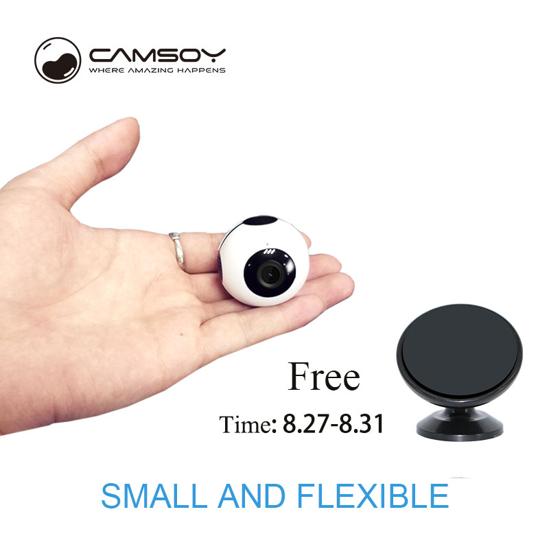 Camsoy Mini Camera C8 WIFI AP P2P Connect with Mobile Phone HD 720p Camcorder DVR DV 2018 New Design Mini Cam