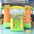 Residencial caçoa o presente da casa do salto Inflável castelo inflável saltando de slides para venda