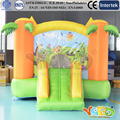 Residential Inflatable bounce house kids gift bouncy castle jumping slide for sale