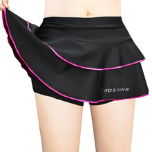 2019 bicycle short skirt with shorts conjoined ladies riding shorts 3D gel pad road bike underwear riding skirt with shorts fashionable leisure conjoined shorts page 4