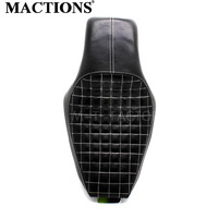 Motorcycle Black Driver Passenger Seat Two Up Seat For Harley Sportster Super Low XL883 XL1200 Iron 48 72   Custom 2010-2016