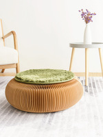 Designer Furniture Creative Stool Folding Round Stool Provincial Space Furniture Side Table Nordic Ornament