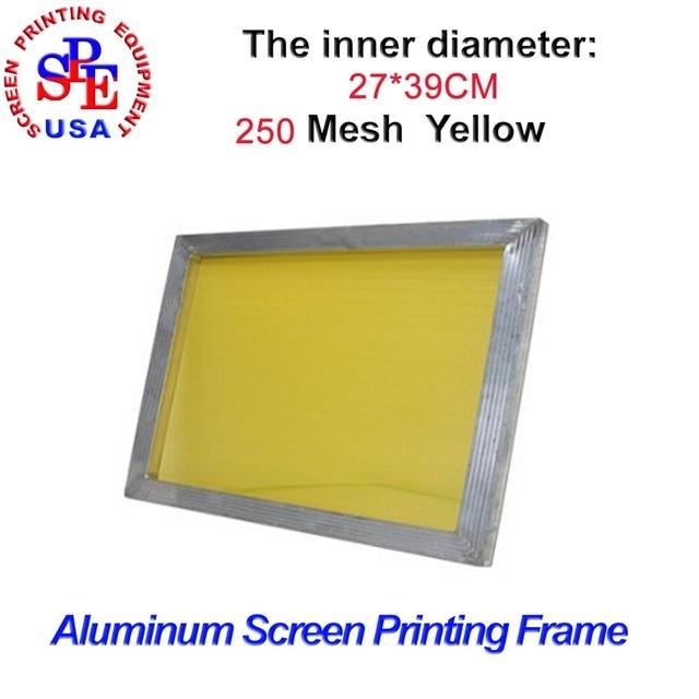 Aluminum Alloy Screen Frame for screen printing inner size 27*39cm ...