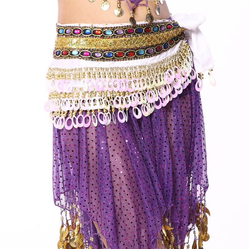 304b944c9d69d Indian Belly dance clothing Color Diamonds Peacock flannel waist Belt long  gypsy skirts waist chain -in Belly Dancing from Novelty   Special Use on ...