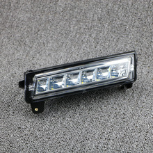A1649060251 Front Drl Led Daytime Running Light LED Fog Light For Mercedes W164 X164 X204 ML350 ML450 GL450 GLK350 цена