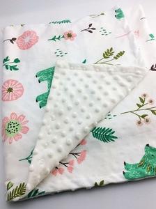 Image 5 - Minky Baby Blanket Flannel Fleece Animal Blanket Infant Swaddle Nap Receiving Stroller Wrap For Newborn Baby Bedding Blankets