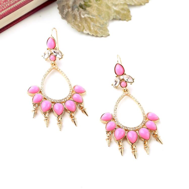 Online Get Cheap Chandelier Earrings Hot Pink -Aliexpress.com ...