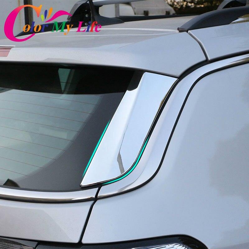 Цвет моей жизни хром экстерьера автомобиля заднего окна наклейки заднее стекло боковые наклейки отделка Крышка для Jeep Компас 2017 2018