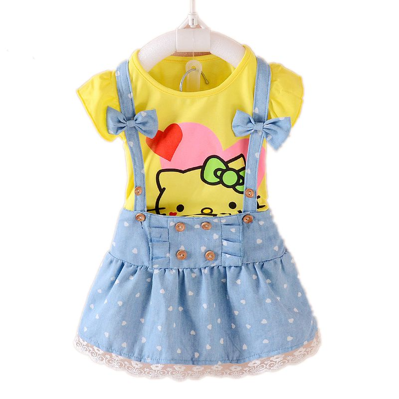 Hello-Kitty-Girls-Dress-Dresses-Kids-Girls-clothes-Children-clothing-Summer-2017-Toddler-girl-clothing-Sets-Casual-Fashion-T569-2