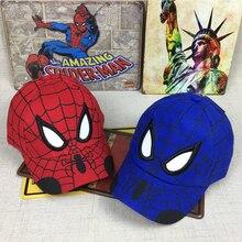 Детская кепка аниме Человек-паук мультфильм дети вышивка хлопок бейсбол мальчик девочка хип хоп шляпа человек-паук шапка для косплея