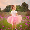 baby Kids Girl Skirts Rainbow Handmade Tutu Skirts Princess Baby Birthday Party Photography pettiskirt tutu