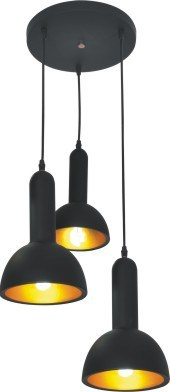 ФОТО  Black flashlight pendant lamps Fashion modern brief aluminum dining room bar cafe flashlight pendant light