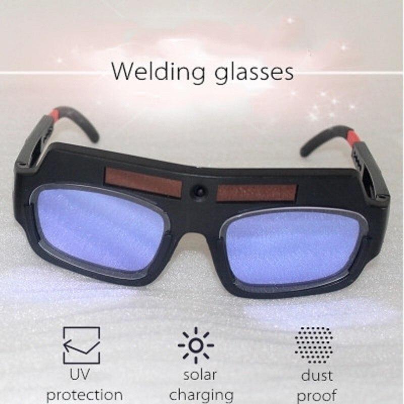 Welding Helmet Welding Mask Solar Charge Auto Dimming Eyes Mask High Sensitivity UV Protection Super Light Welder Eyes Glasses