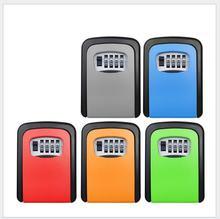Новая Стальная наружная настенная коробка для ключей с комбинацией
