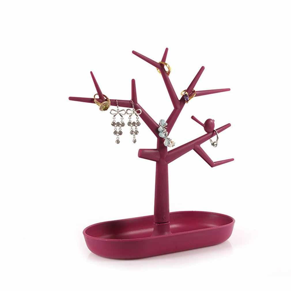 Jwelry Органайзер ожерелье серьги подставка в виде дерева дисплей вешалка для хранения стенд ювелирный Органайзер брелок держатель стойки
