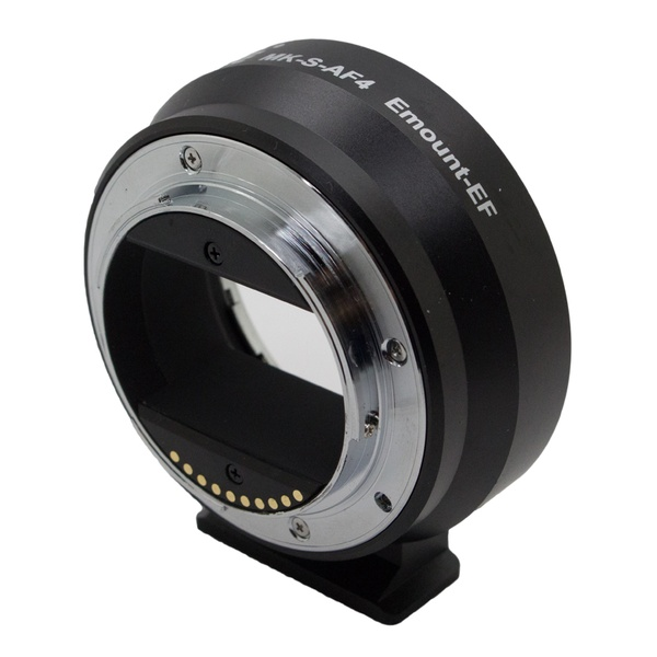 MEIKE for EOS EF-NEX Auto Focus Electronic Adapter for Canon EF EFS lens to Sony NEX E Mount meike for eos ef nex auto focus electronic adapter for canon ef efs lens to sony nex e mount