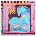 60cm*60cm Horse bird sun pattern small square 2017 European brand women's stole shawl hijab  sjaal A033