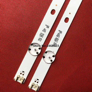 New Kit 2pcs 5LEDs 590mm LED strip for LG TV 32LH510B 32LH51_HD S SSC_32INCH_HD LGE_WICOP_SVL320AL5 Innotek direct 32inch CSP 1