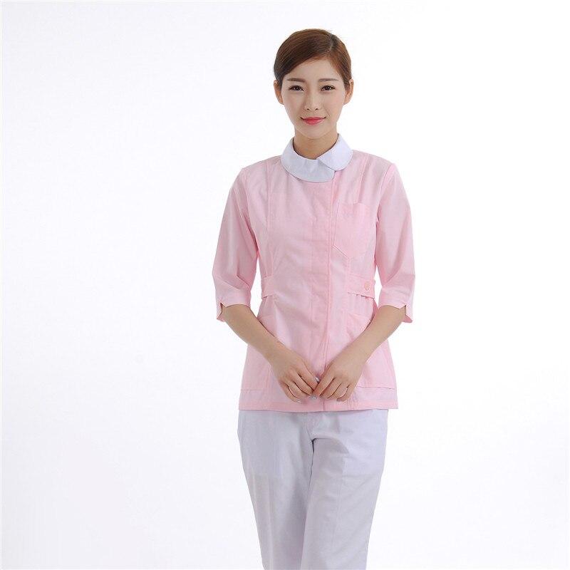 Nurse uniform Beautician overalls Medical clothing Beautician dress Beauty salon uniforms New dress The love heart brand 2color