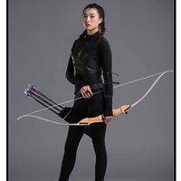 68inch 20 30lbs Archery Bow Wooden Recurve Bow for Shooting Hunting Bow Arrow Take Down Bow Outdoor Sports Game Practice