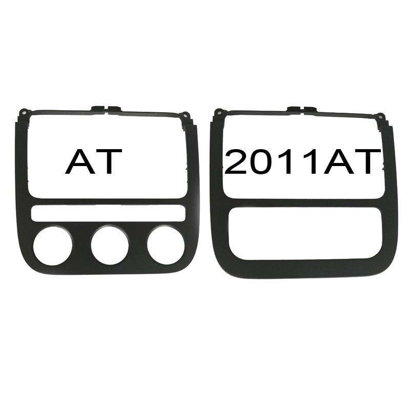 Climatronic control switch panel air conditioning frame car radio panel CD trim cover accessories for VW Jetta 5 MK5 Golf 5 MK5 for mazda 3 axela hatchback sedan 2014 2015 2016 abs high quality air conditioning ac control switch cd panel cover trim 1 pcs