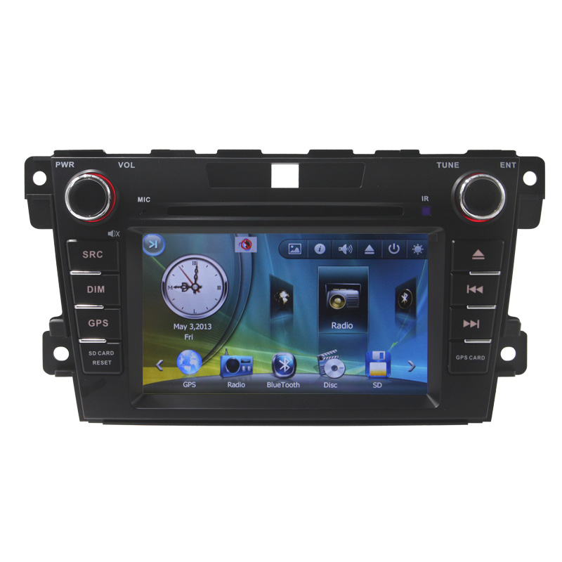 7 Touch Screen Car DVD for Mazda CX7 with Bluetooth Radio Rear Camera MP4 MP3 Radio