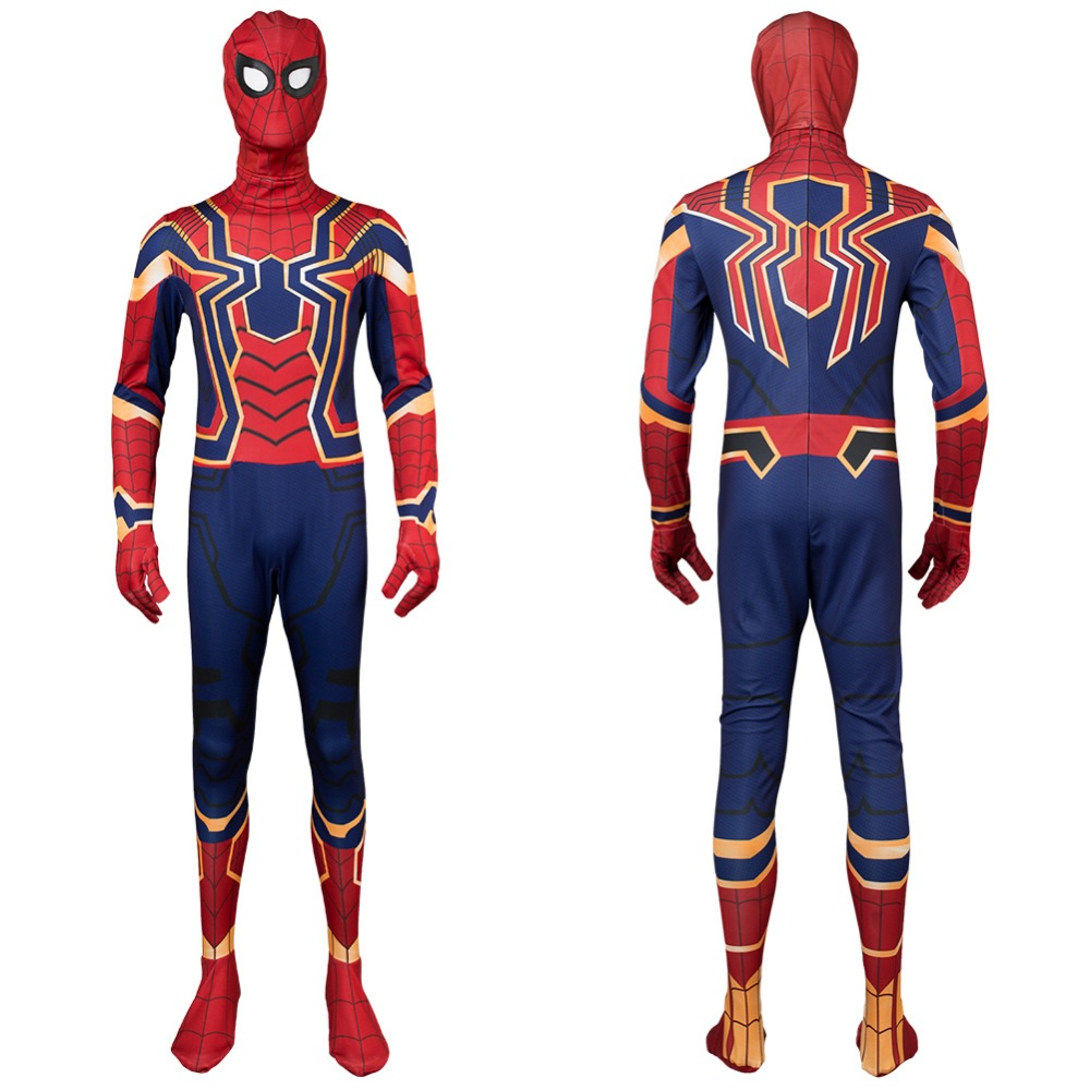 Avengers Infinity War Iron Spider Spider-Man Homecoming Cosplay Captain America 3 Civil War Spiderman Peter Parker Tom Holland
