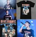 Kpop Bigbang T-shirt MADE Unisex T-shirt TEE GD G-DRAGON Cotton FINAL IN SEOUL
