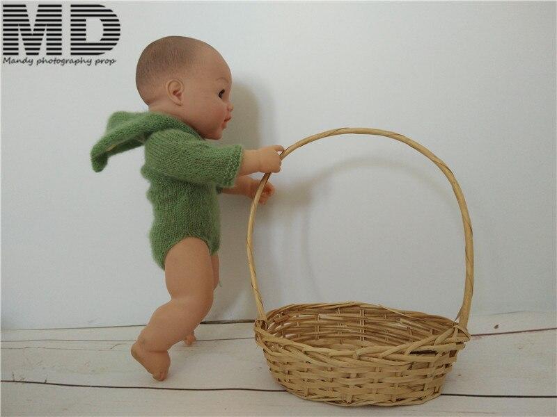 Baby mohair outfits Жаңа туылған Mohair Жалпы Romper - Балаларға арналған киім - фото 5