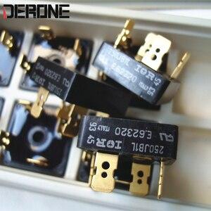 Image 1 - 2 pezzo di 250JB1L 25A 100V diodo raddrizzatore a Ponte audio placcato Oro 4 pin