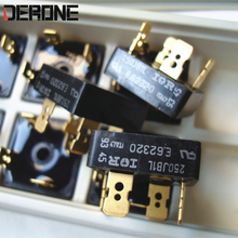 2 piece  250JB1L  25A 100V audio  diode Bridge rectifier  Gold plated 4 pin