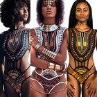 New African Bikini W...