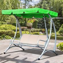 Garden Swing Cover Waterproof Outdoor Swing Cover Dustproof Chair Replacement Canopy Spare Fabric Cover Dust Covers UV Resistant