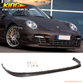 For 2006 2007 2008 2009 2010 2011 2012 Porsche 997 OE Style Filled / No Holes Front Bumper Lip Unpainted PU
