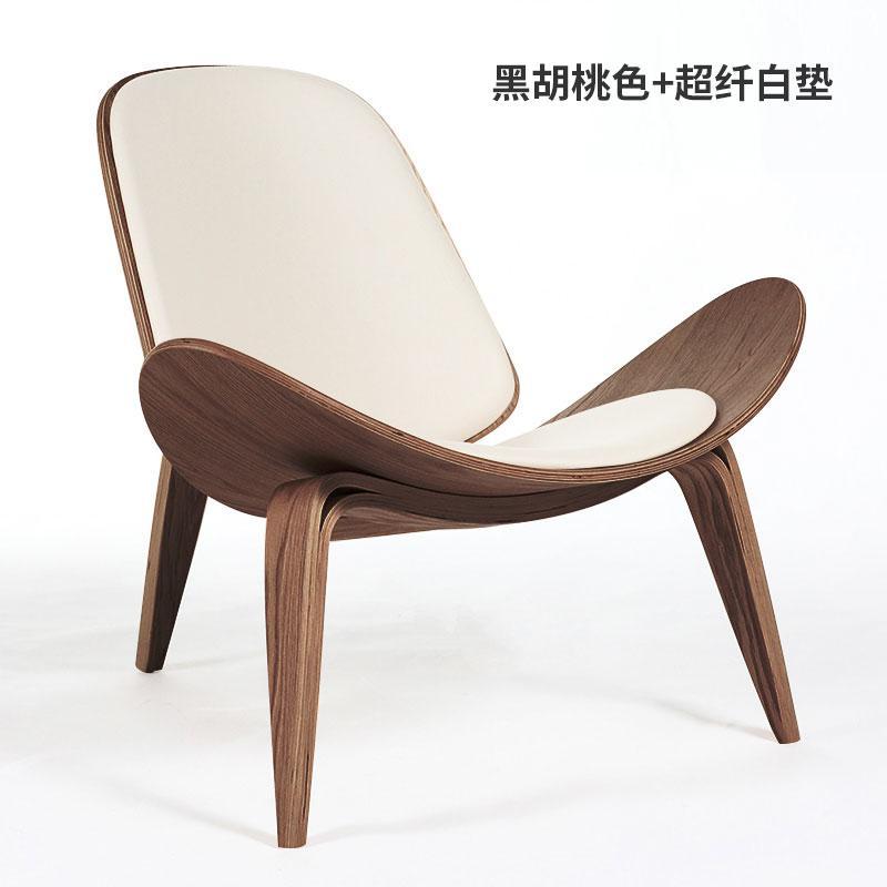 Nordic chair insnet red chair creative simple designer single sofa chair smile airplane shell chair