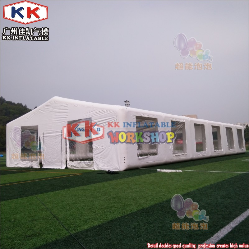 28.5x13.5m Outdoor Strong PVC Inflatable Marquee Factory , Manufacture airtight football tent