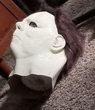 2018 украшение коробка подарок реалистивечерние чные платье Майкл Майерс латексная маска для Хеллоуина