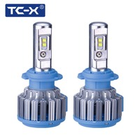 TCX Super Bright H7 LED Car Headlights H1 H3 H8 H11 HB3 9005 HB4 9006 Auto