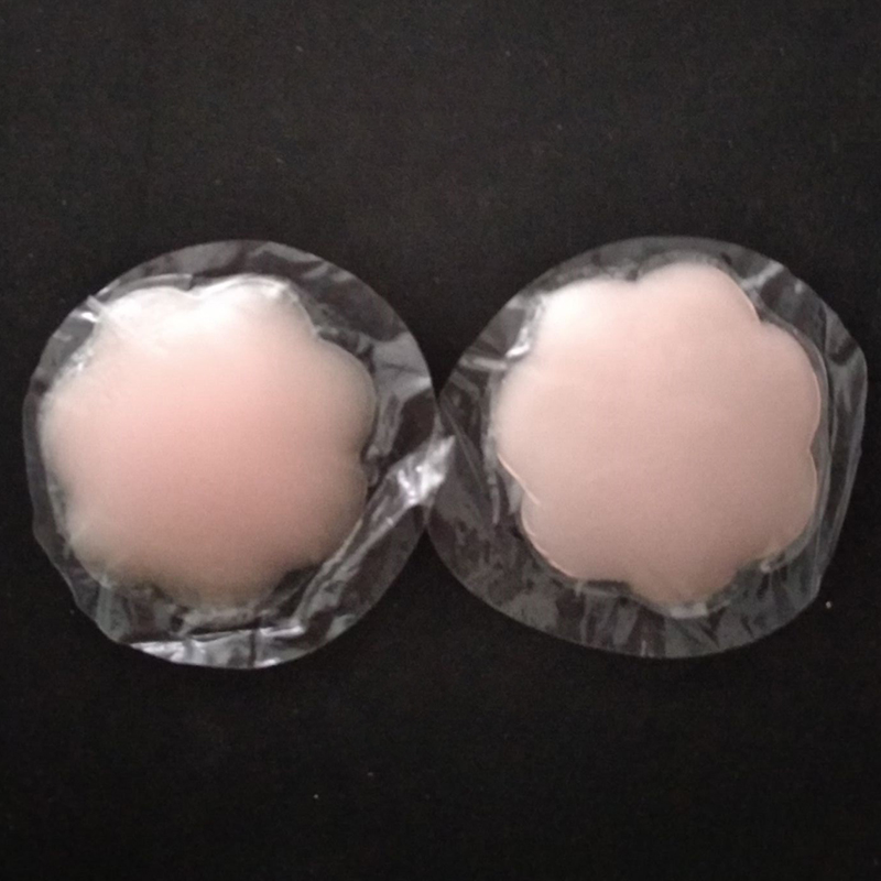 Women Reusable Nipple Pasties Self Adhesive Nipple Cover Invisible Breast Sticker Silicone Boob Tape Bra Pads Accessories