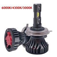 YOTONLIGHT Led H4 Headlights Car Light H11 H7 H4 9005 9006 HB3 HB4 H1 LED Dual Color Led Bulb 120w 12000lm 6500K 3000K 4300K