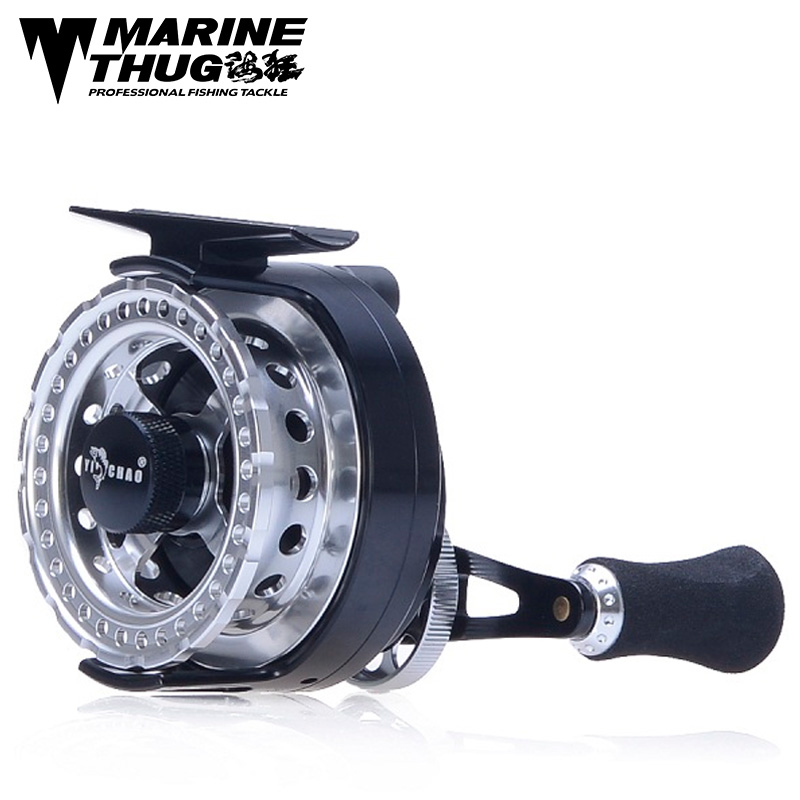 Marine thug Fly Fishing Reel FFD60 Left hand Right Hand Fishing Reel 6+1BB 3.6:1 Flying Fishing Wheel