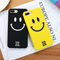 KISSCASE For iPhone 6 6S 7 Plus Cover Case Soft Silicon Cute Cartoon Smile Mobile Phone Cases For iPhone 7 6 6S Capa Accessories