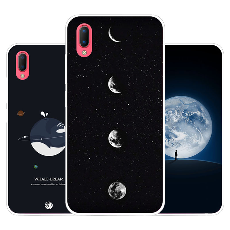 Vivo Y93S Y93 Case,Silicon map view Painting Soft TPU Back Cover for Vivo Y93S Y93 protect Phone cases