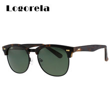 Logorela  Mens Sunglasses Polarized Vintage UV400 Adult Luxury Brand