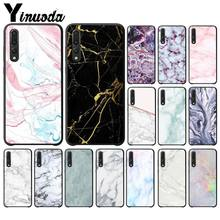 Yinuoda marble Newly Arrived Black Cell Phone Case for Huawei P9 P10 Plus Mate9 10 Mate10 Lite P20 Pro Honor10(China)