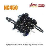 98 NC450 запчасти трансмиссия главный вал Зенковка ZONGSHEN двигатели для автомобиля NC ZS194MQ (Nihao двигатель) Кайо Asiawing Xmoto