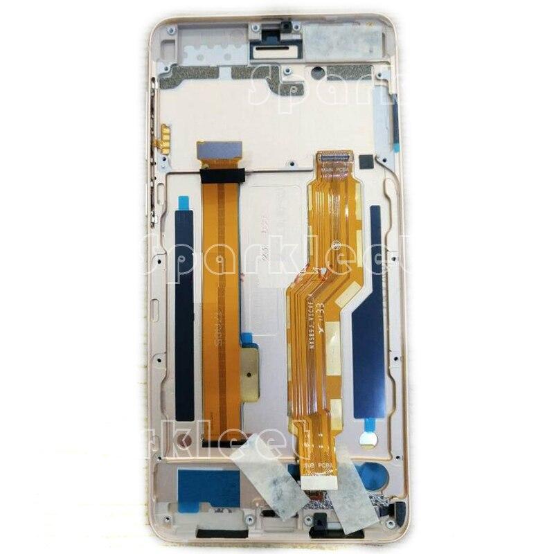 LCD avec Cadre Pour Nubia Z17 MINI S NX589J LCD Affichage Écran tactile Digitizer Assemblée Pièces De Rechange Pour ZTE nubia NX589J LCD