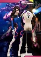 STOCK Game OW D VA Sexy Bodysuit Armor Full Set Default Sizes S XL Free