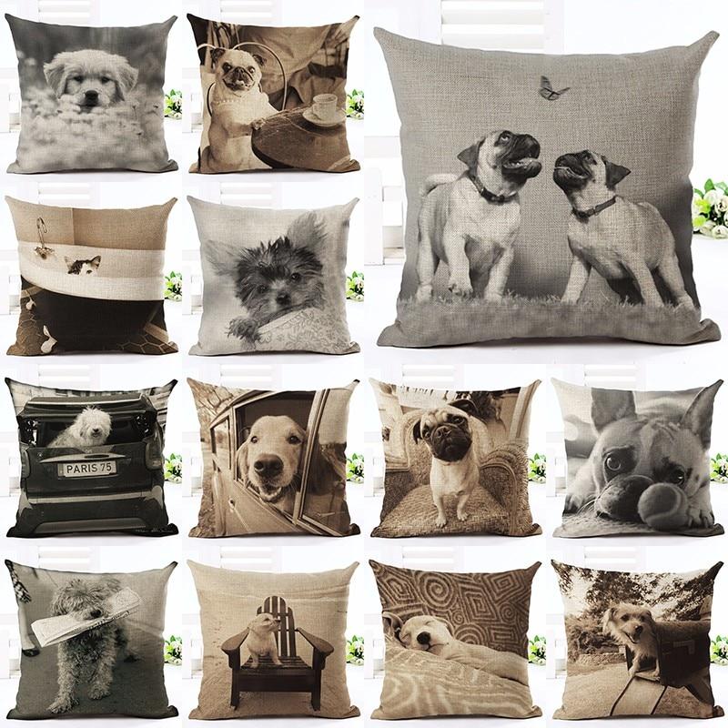 Նոր ժամանում Angel Bull Terrier Cushion Coversion Dog Dog - Տնային տեքստիլ